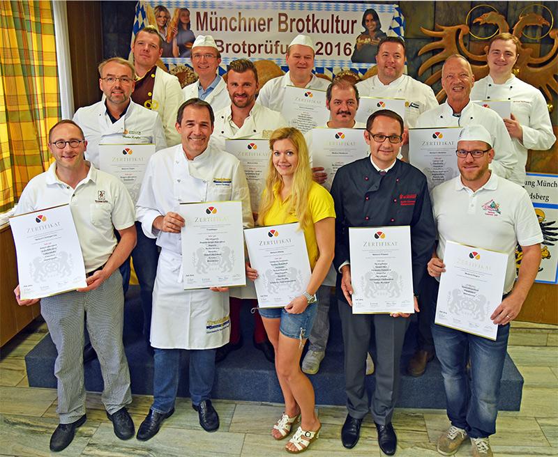 Brotbackprüfiung Bäckerinnung München Landsberg