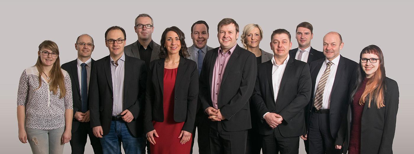 Der Vorstand 2016 der Wirtschaftsjunioren Harzkreis